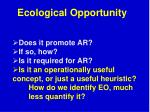 ecological opportunity4