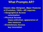 what prompts ar