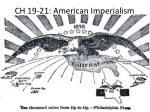 ch 19 21 american imperialism