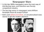 newspaper wars