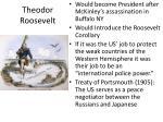theodor roosevelt