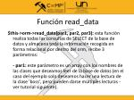 funci n read data