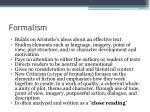 formalism