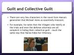 guilt and collective guilt1