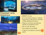 podmorsk hotel hydropolis