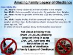 amazing family legacy of obedience1