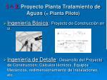 1 2 proyecto planta tratamiento de aguas planta piloto