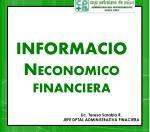informacion economico financiera
