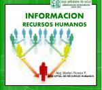 informacion recursos humanos