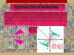 equation line of reflection
