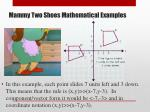 mammy two shoes mathematical examples