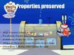 properties preserved