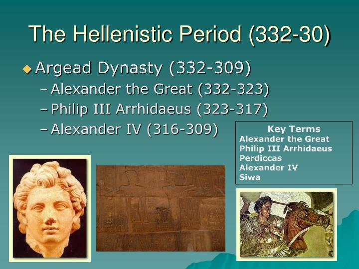 the hellenistic period 332 30 n.