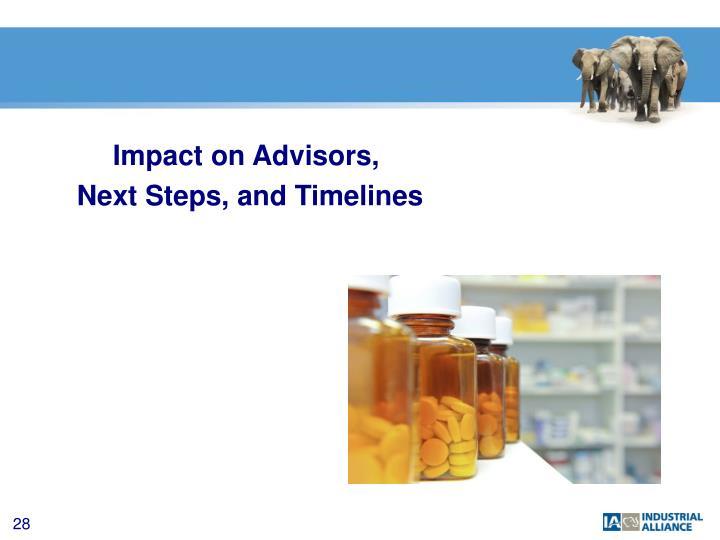 Impact on Advisors,