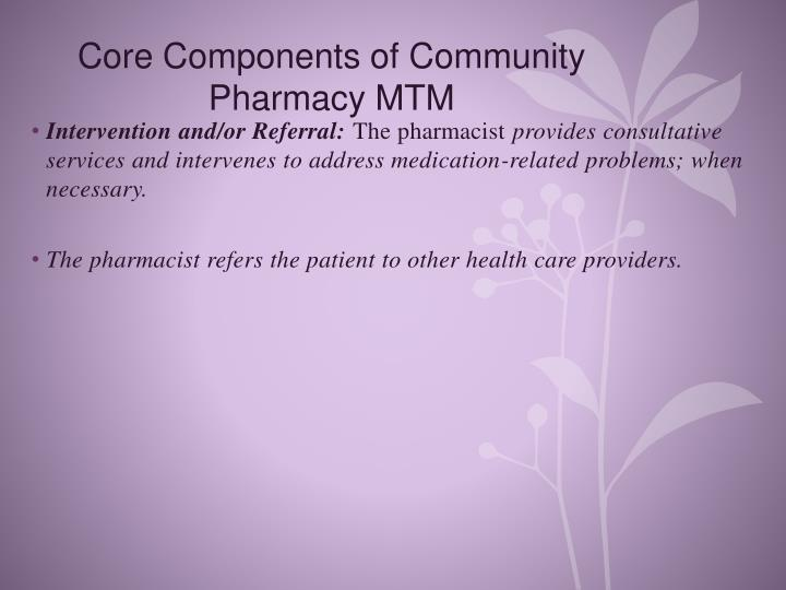 Core Components of Community
