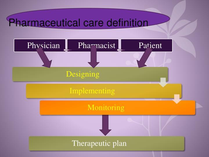 Therapeutic plan