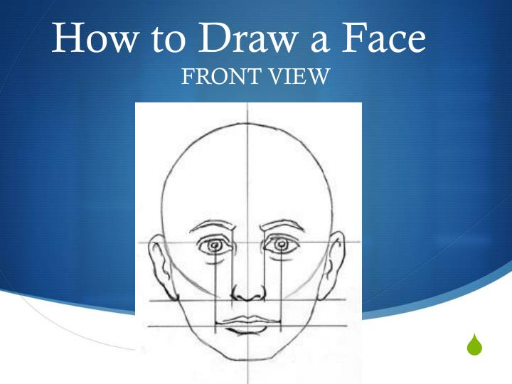 how to draw a face n.