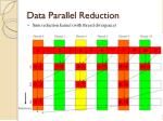 data parallel reduction