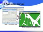 2 3 application example