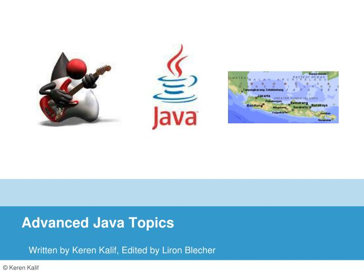 advanced java topics n.