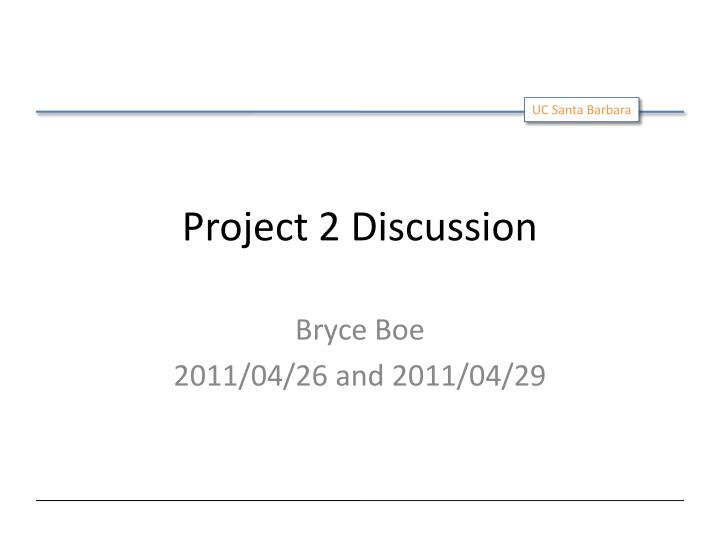project 2 discussion n.
