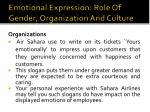 emotional expression role of gender organization and culture2