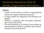 emotional expression role of gender organization and culture4
