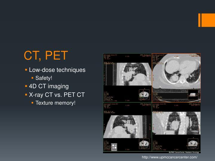 CT, PET