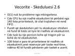 vecorite skeduluesi 2 6