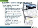 subsurface utilities design and analysis3