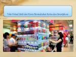 toko virtual unik dari korea bermediakan kertas dan smartphone