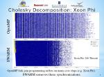 cholesky decomposition xeon phi