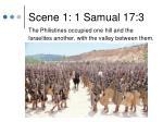 scene 1 1 samual 17 3