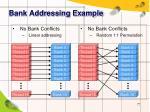 bank addressing example