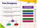 flow divergence