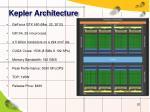 kepler architecture