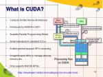 what is cuda