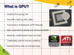 what is gpu