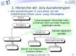 3 hierarchie der java ausnahmetypen