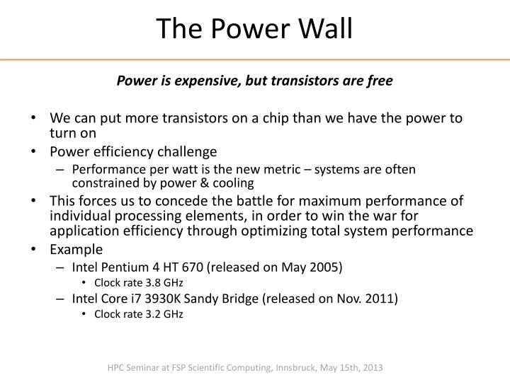 The Power Wall