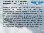 preven o de acidentes aeron uticos nsca 3 310