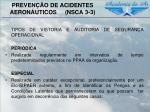 preven o de acidentes aeron uticos nsca 3 35