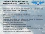 preven o de acidentes aeron uticos nsca 3 36
