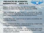 preven o de acidentes aeron uticos nsca 3 38