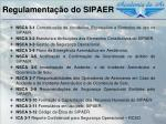 regulamenta o do sipaer1