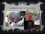 barefoot college