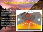 deforming the earth s crust12