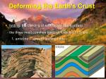 deforming the earth s crust2