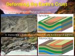 deforming the earth s crust3