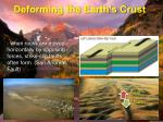 deforming the earth s crust6